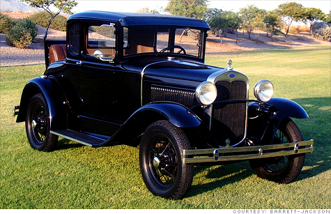Dillinger S Getaway Car Sells For 165 000 Jan 24 2010