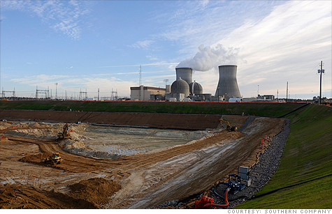 Work is under way to expand Southern Companies' Vogtle plant, the first to recieve new federal funding.