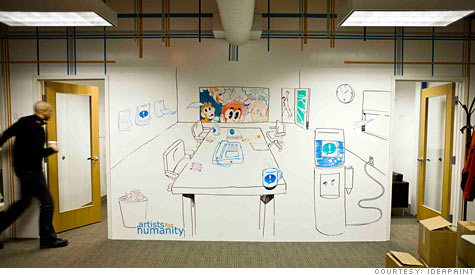Ideapaint turns office walls into whiteboards mar 8 2010 - Best paint for office walls ...