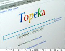 Google's April Fools' prank: We're now Topeka - Apr. 1, 2010