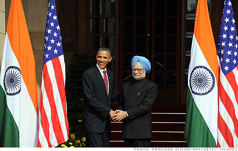 Manmohan Singh agreed on $10 billion in trade deals, reflecting India ...