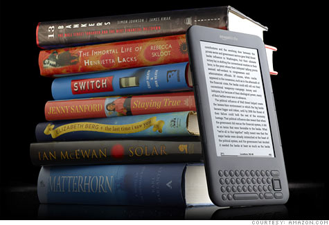 Amazon sales pop as Kindle e-books overtake paperbacks - Jan. 27, 2011