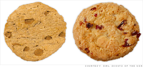 girl scout cookie cutbacks two flavors get the axe   feb