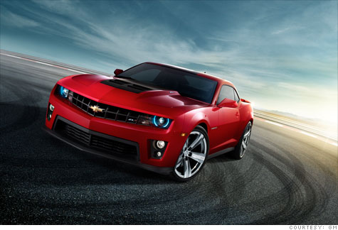 Camaro with 550-horsepower unveiled by GM