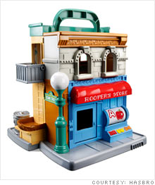Hasbro's Sesame Street playset was part of their new toy rollout of the hit PBS series.