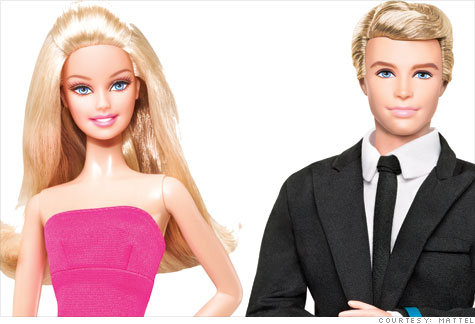 ken et barbie
