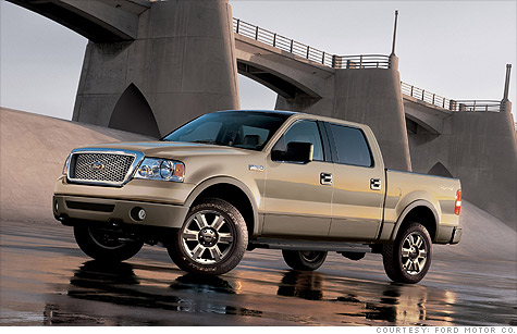 Ford F-150's recalled over airbag problem