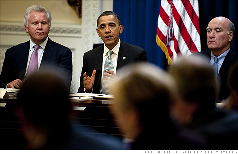 Obama's kitchen cabinet on jobs meets to brainstorm - Feb. 24, 2011