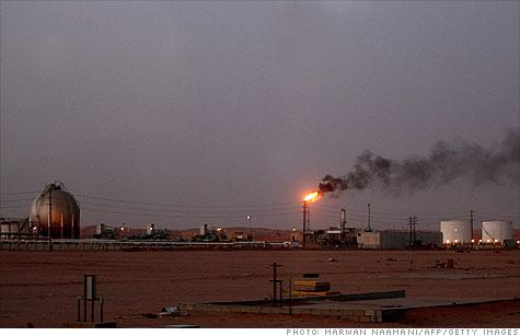 saudi arabia oil production hike to cover libya