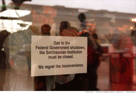 In the last major shutdown, the government closed 368 National Park Service sites, along with national museums and monuments.