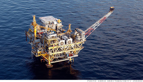deep water oil drilling