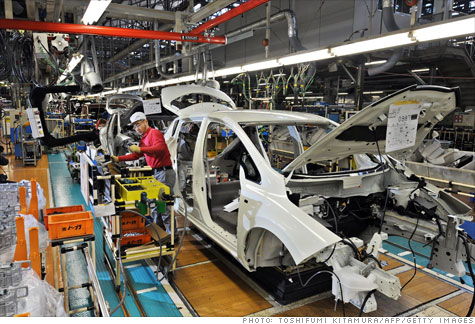 japan, earthquake, auto industry, tsunami