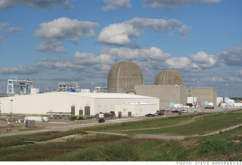 NRG nuclear plant near Bay City