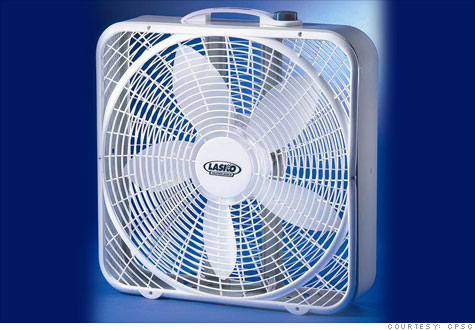 About 4.8 million box fans made by Lasko are being recalled for a fire risk.
