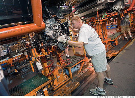 Job security for autowokers comes more from the automakers making commitments to invest in U.S. plants than from the previous contracts that paid them whether or not they were working.