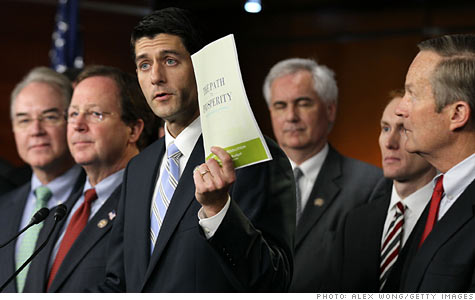 GOP budget: House budget chief Paul Ryan would make drastic cuts