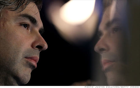 Google CEO Larry Page plans to invest aggressively in enhancing existing products and inventing new ones.