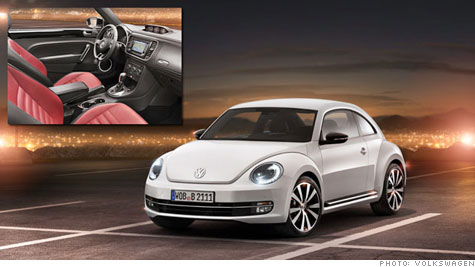 Volkswagen's 2012 New Beetle is a more aggressive take on an icon of cuteness.
