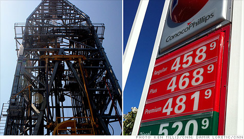 Gas prices wouldn't be lowered by more domestic oil drilling.