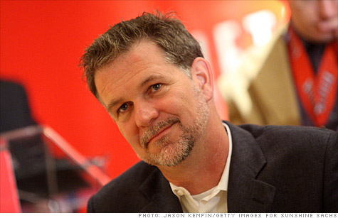 Netflix CEO Reed Hastings has presided over a decade of soaring growth at his video streaming and rental company.