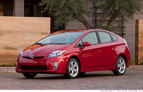 Car shoppers are interested in the fuel savings and environmental benefits of hybrid cars like the Toyota Prius, but high prices compared to gasoline-only cars are a turn-off.