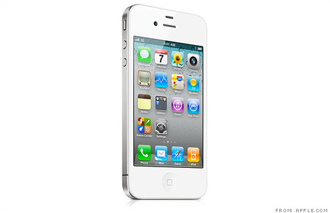 The white iPhone 4 is set to go on sale April 28