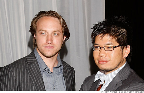 YouTube founders Chad Hurley and Steve Chen are buying Delicious from Yahoo.
