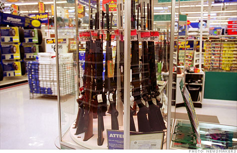 wal-mart, guns
