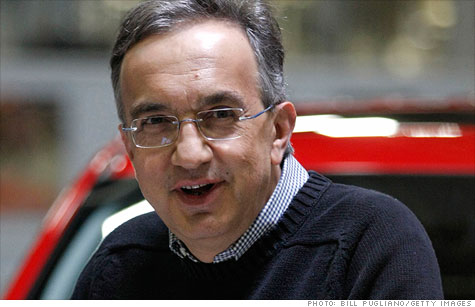 Sergio Marchionne, CEO of Fiat and The Chrysler Group