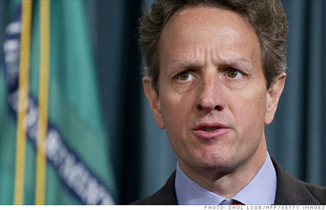 The tap dance begins: Treasury Secretary Geithner said he can move money around to keep U.S. out of default until Aug. 2.
