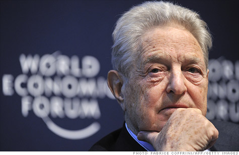 Soros, gold, $800 million