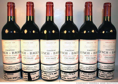 Bernard Madoff's wine collection is up for bid, including this half-case of Chateau Lynch-Bages, starting at $1,200-$1,800.