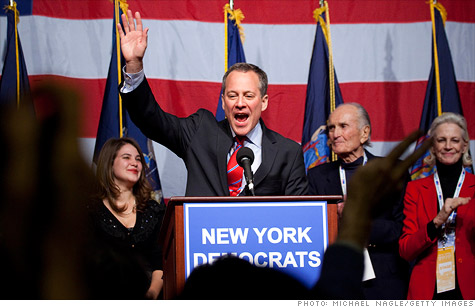 Eric Schneiderman, who was elected New York attorney general last year, is investigating Wall Street banks for their roles in the mortgage crisis.