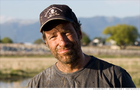 Mike Rowe, host of Discovery Channel's 'Dirty Jobs,' is on a mission to change America's perceptions of blue collar work.