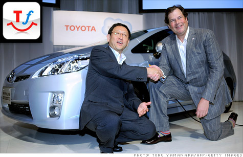 Toyota social network