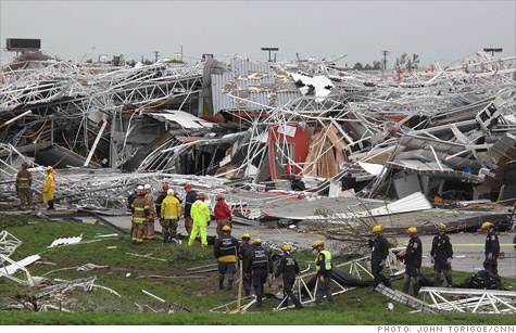 The deadly tornado that flattened much of Joplin, Mo., caused up to $3 billion worth of damage, according to an Eqecat estimate.