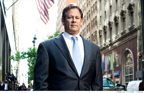 Rick Rieder outside BlackRock?s headquarters in Midtown Manhattan.
