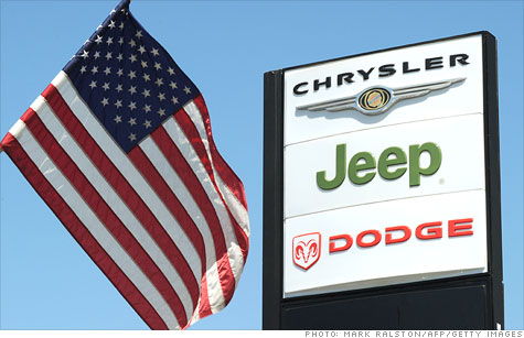 Fiat to buy Treasury's stake in Chrysler