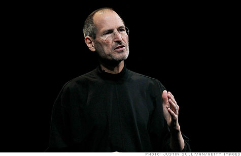 Steve Jobs is slated to speak next week at Apple's event launching iCloud.