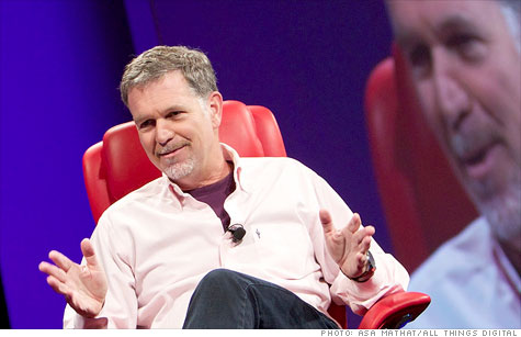 Netflix CEO Reed Hastings has one big fear: That his company will eventually