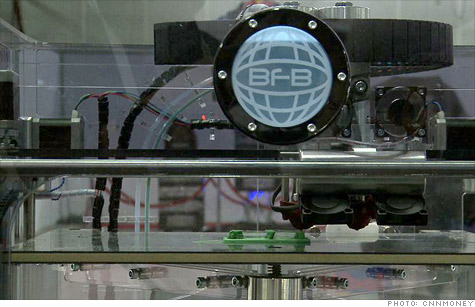 3D Systems aims to make fabication machines like this one a common household object.
