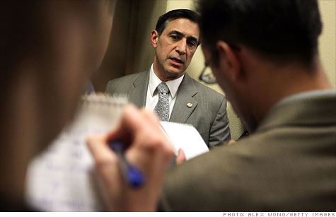 Darrell Issa wants to make cuts to the federal workforce.