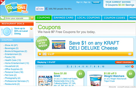 Coupons.com raises $200 million