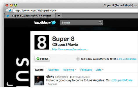 'Super 8' Secret: Movie sneak preview hyped via Twitter