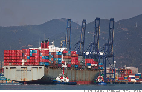 Chinese exports slow in May