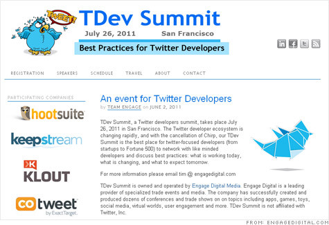 Twitter developers plan rogue summit