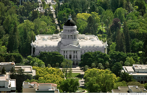 California lawmakers passed a budget.