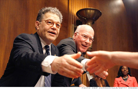 Sen. Al Franken has been grilling execs from Apple and Google about location data privacy.