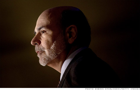 Federal Reserve chairman Ben Bernanke has downplayed the chances of another recession but has acknowledged recent economic weakness.