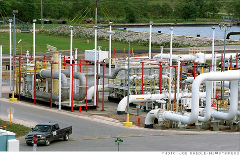 The Department of Energy will release oil from the SPR in an effort to offset lost supply from Libya.